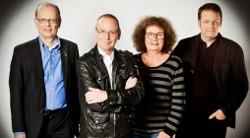 Von li: R. Jahn, Th. Hackenberg, I. Müller-Münch, U. Noller (Foto: freundliche Genehmigung WDR)
