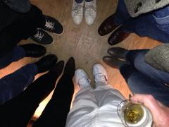 Zeigt her eure Füße ... (Foto: Angela Eßer)