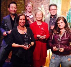 Die Preisträgerinnen und Preisträger 2015 (Foto: Angela Eßer)