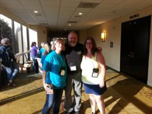 Jeannette Bauroth, Lee Lofland, Wendy Young (v.l.)