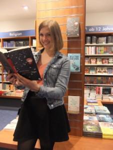 Besuch in der Buchhandlung Rupprecht, Erlangen (Foto: Valeria Fischer)